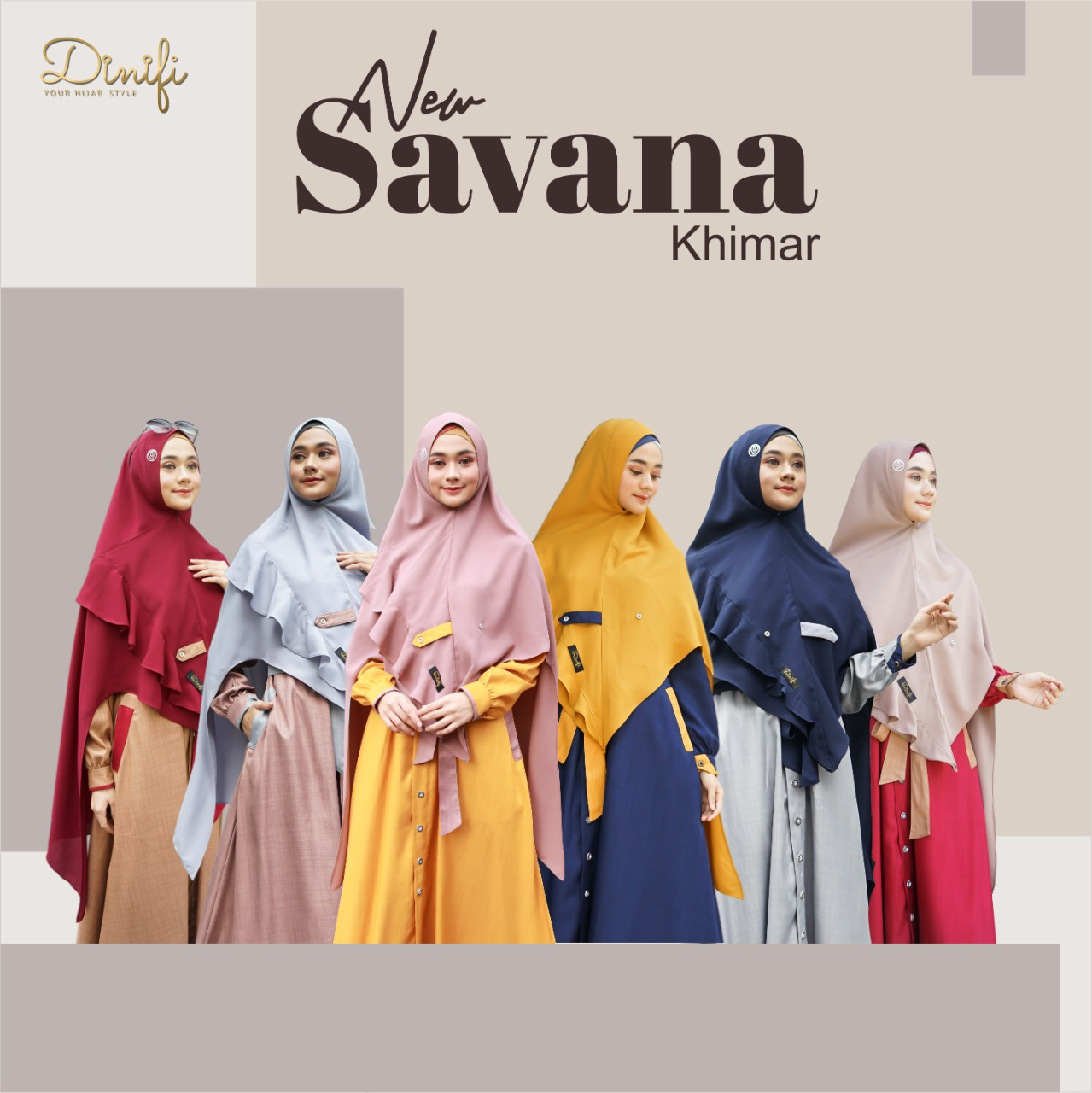 Khimar New Savana