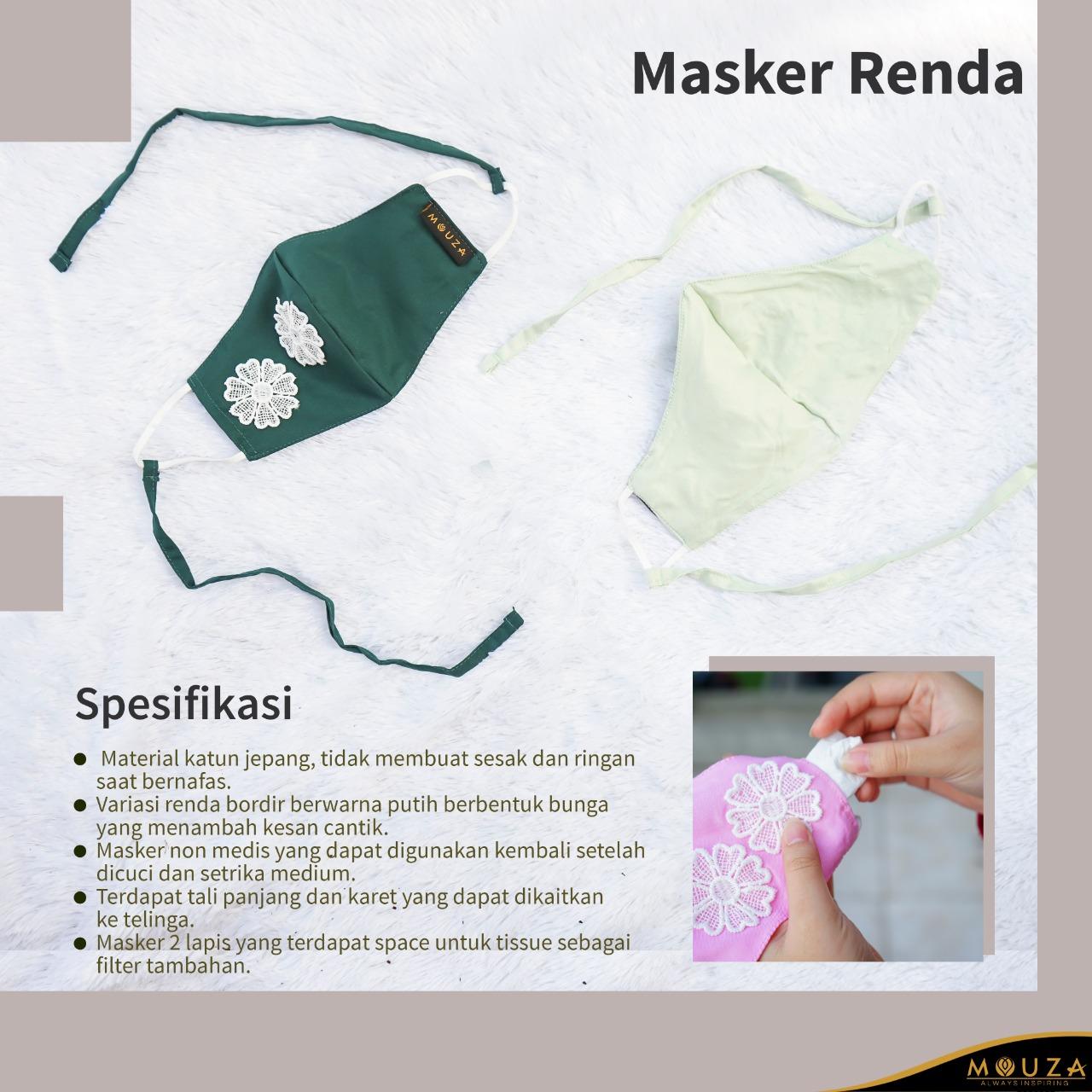 Masker Renda (Satuan)