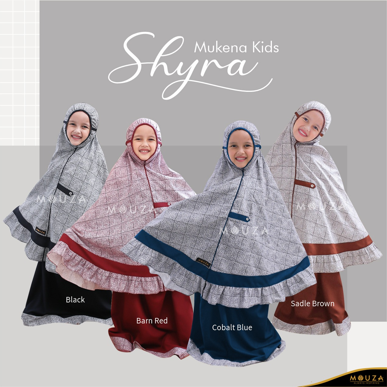 Mukena Anak Shyra