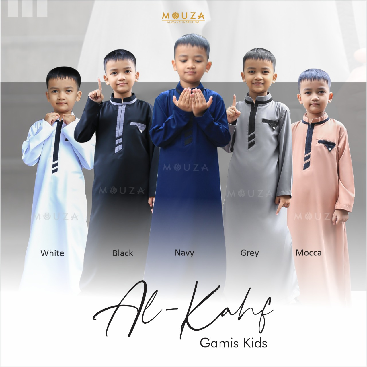 PO 2 Al-Kahf Gamis Kids