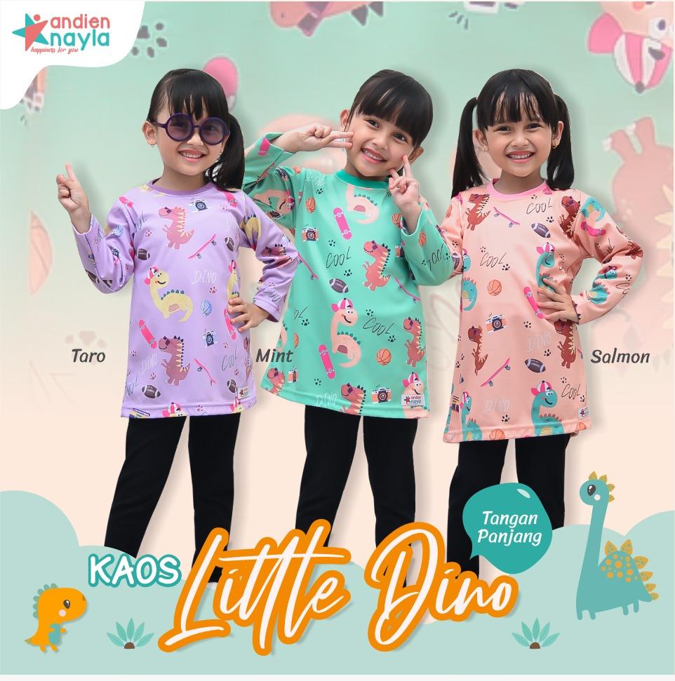Kaos Little Dino Panjang