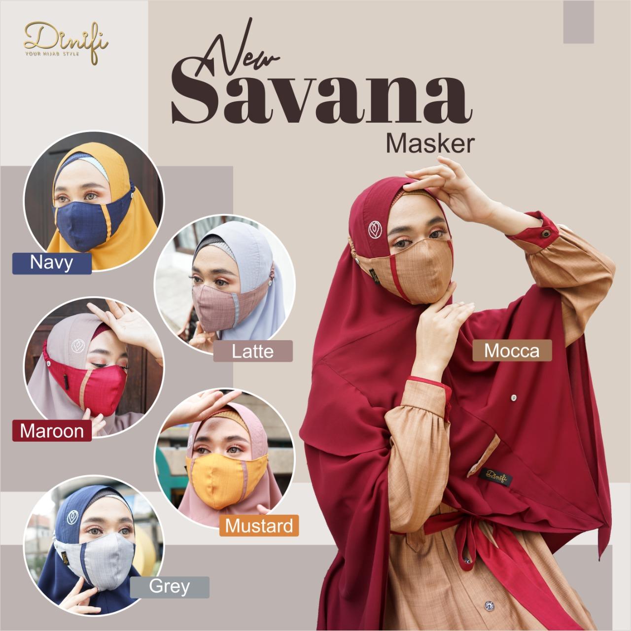Masker New Savana